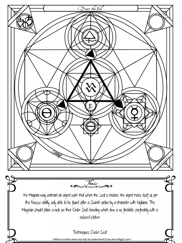 Draw the Veil